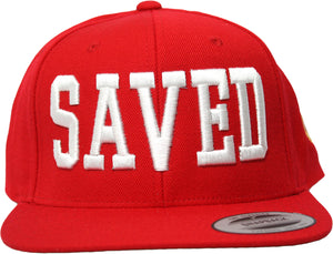 RED OG SAVED Snapback