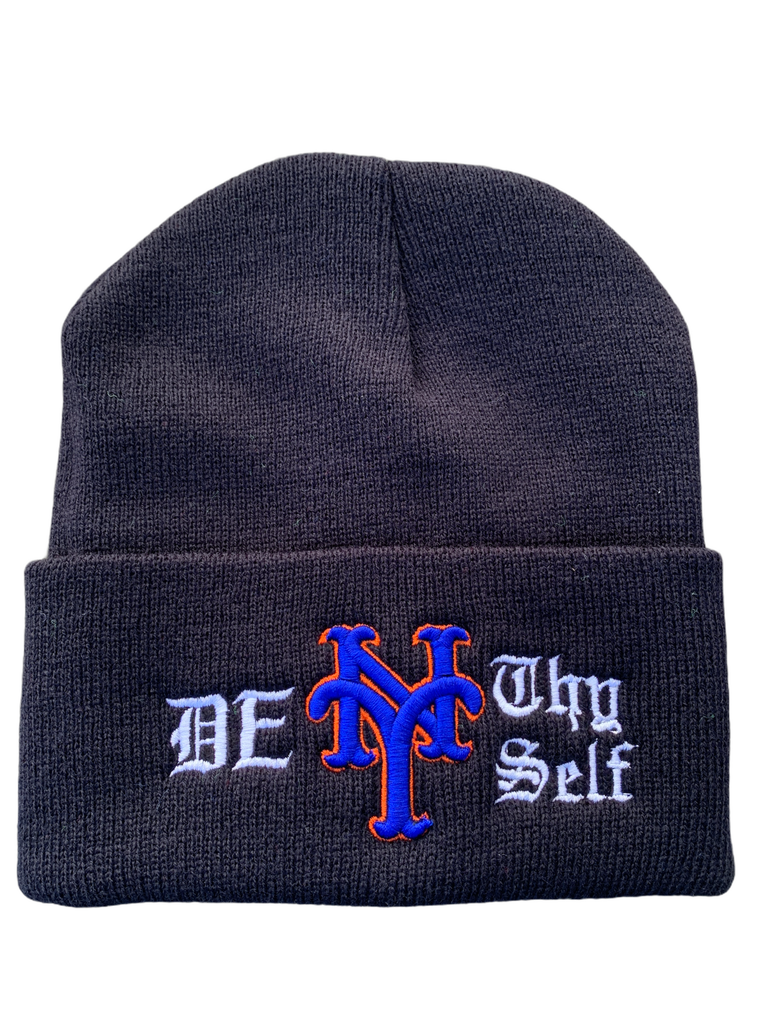 DENY THY SELF WATCH CAP (BLACK)