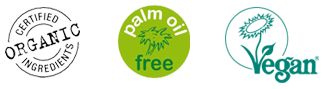 Certified Organic - Palm Oil Free - Certified Vegan Beauty Products
