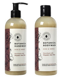 Rose & Neroli Body Wash | Rose & Neroli Hand Wash