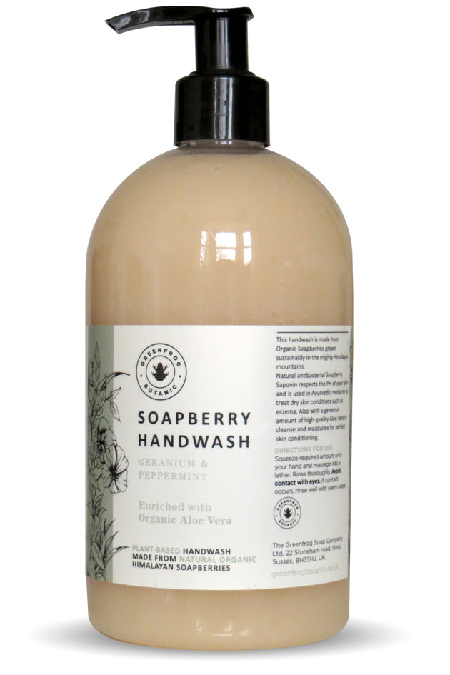 500ml Geranium & Peppermint Handwash