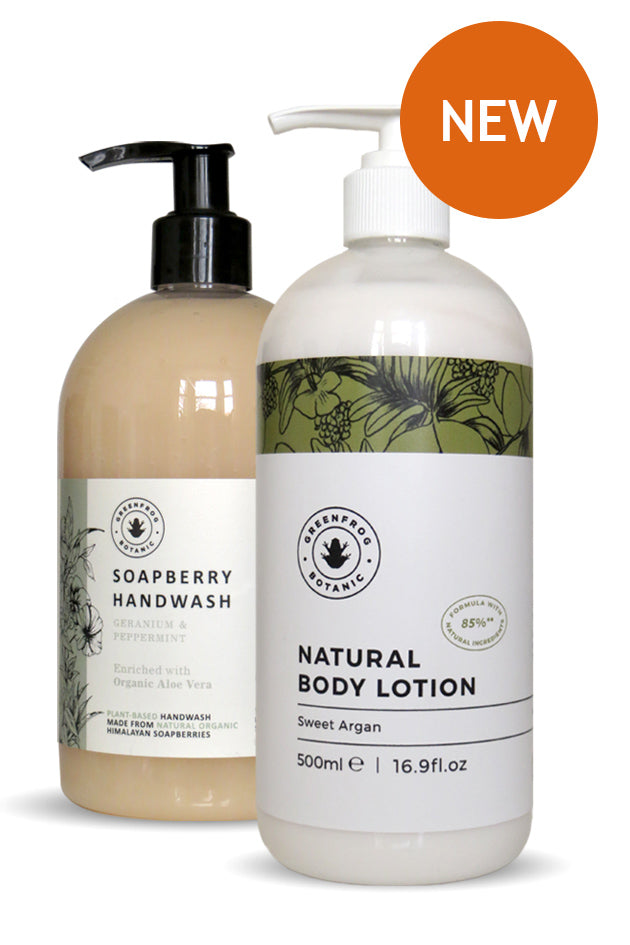 Natural Handcare Kit - Handwash & Lotion
