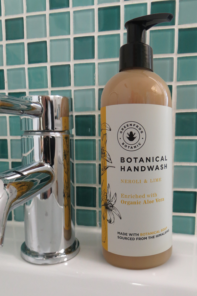 Organic Liquid Soap - Neroli & Lime