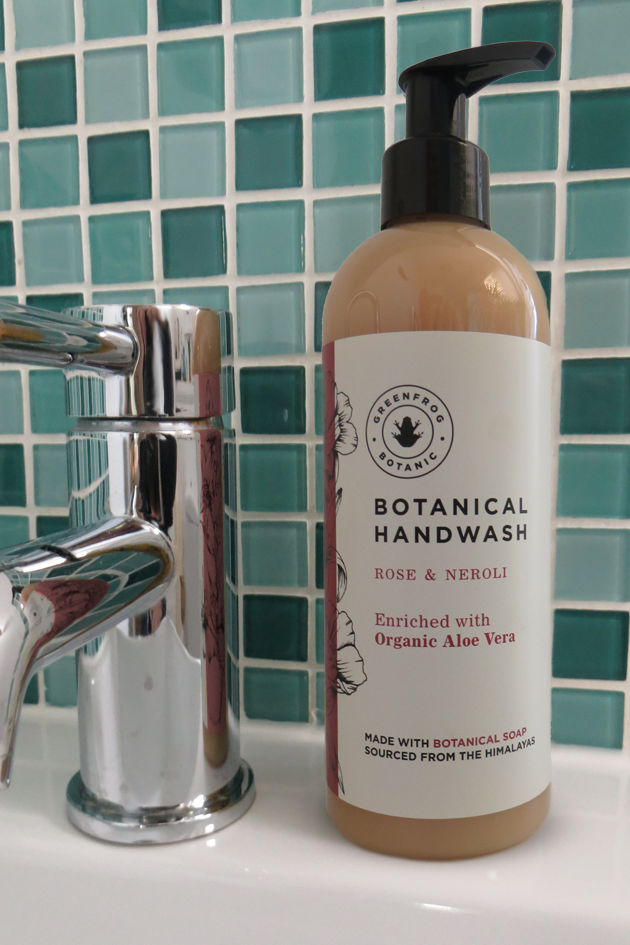 Organic Liquid Soap - Rose & Neroli