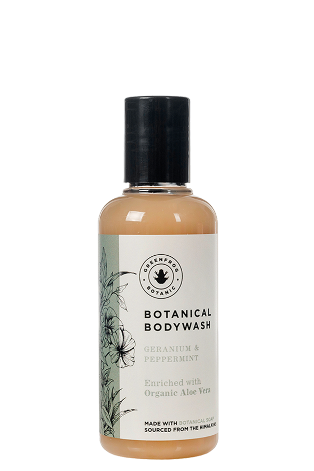 Natural Travel Bodywash - Geranium & Peppermint 100ml