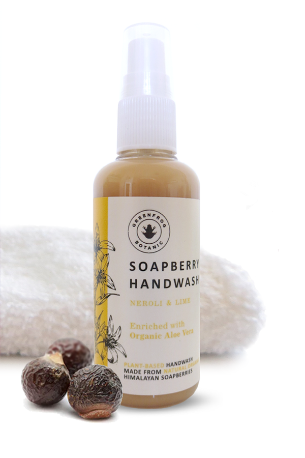 Travel Handwash with Soap Berries - Neroli & Lime 100ml