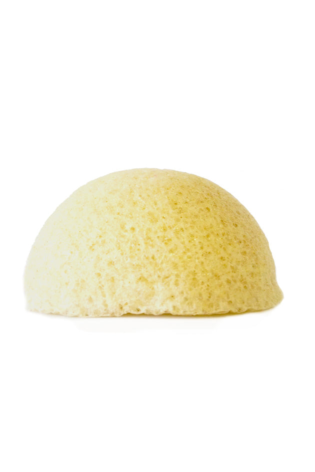 Natural konjac sponge for gentle cleansing & exfoliation