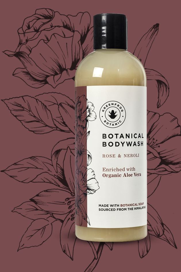 Soapberry Bodywash - Rose & Neroli 300ml