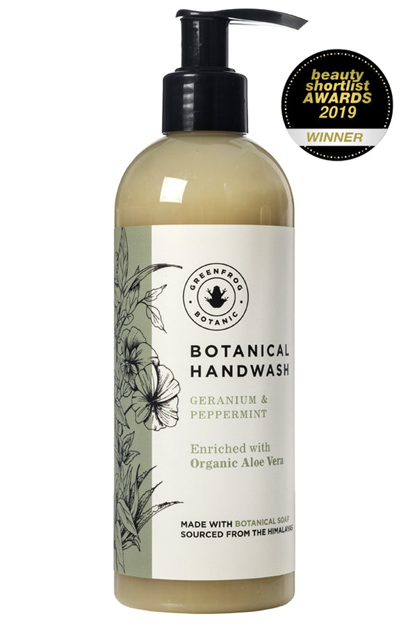 Organic Natural Handwash - Geranium & Peppermint 300ml