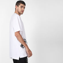 WHITE DOUBLE PISTOL T SHIRT