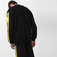 BLACK CRIME SCENE JACKET