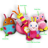 Spiral Soft Toy (Pink Butterfly)-DEj KidS