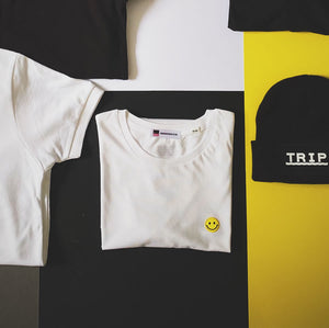 acid house inspired smiley face tee | The Groovehouse