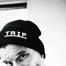 Load image into Gallery viewer, monochrome beanie hat | The Groovehouse