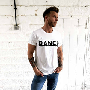 large dance font tee | the groovehouse