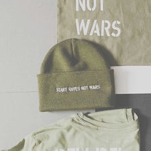 Load image into Gallery viewer, Khaki green beanie hat | The Groovehouse