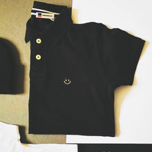 Load image into Gallery viewer, smiley face acid house t shirt polo shirt 90's | The Grooovehouse