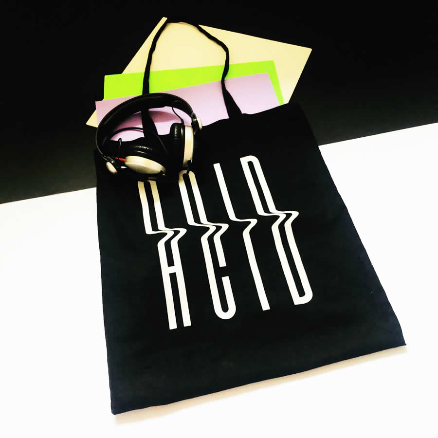 Acid tote bag | The Groovehouse