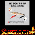Rechargeable LED lure