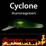 Balista Cyclone LED fishing lure colors auroragreen