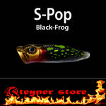 Balista S-pop LED fishing lure Black-Frog