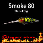 Balista Smoke 80 Black-Frog LED fishing lure