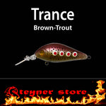 Balista Trance LED fishing Lure Brown trout