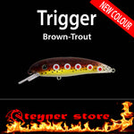 Balista trigger brown-trout LED fishing lure Brown trout