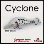 Balista Cyclone LED fishing lure colors Ghost-Minnow