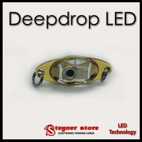 Deep drop fishing LED lure