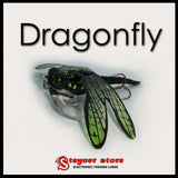 Topwater Dragonfly fishing lure with free LED