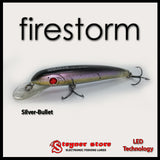 Balista firestorm LED fishing lure Silver-bullet
