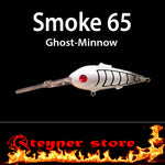 Balista Smoke 65 LED fishing lure Ghost minnow