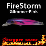 Balista Firestorm LED fishing lure Glimmer-pink