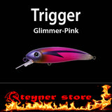Balista Trigger LED fishing Lure Glimmer pink