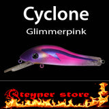 Balista Cyclone LED fishing lure colors Blimmerpink