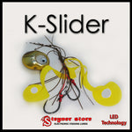 Glowbite Kabura K-Slider Yellow LED Fishing lure