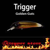 Balista Trigger LED fishing Lure Golden guts