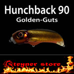 Balista Hunchback 90 LED fishing lure Golden guts