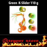 Glowbite Kabura K-Slider Green LED Fishing lure 110 g