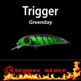 Balista trigger Greenday LED fishing lure