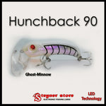 Balista Hunchback 90 LED fishing lure Ghost minnow