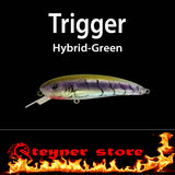 Balista Trigger LED fishing Lure hybrid green