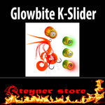 Glowbite Kabura K-Slider Orange LED Fishing lure