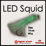 LED Fishing Squid Lure 14 cm 66 g