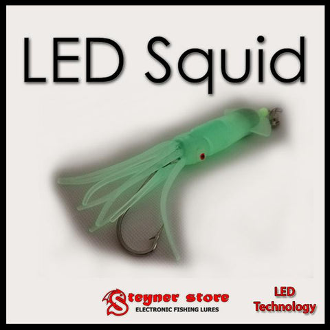 LED fishing lure Squid