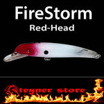 Balista Firestorm LED fishing lure Red head