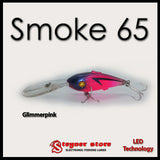 Balista Smoke 65 LED fishing lure glimmer pink