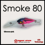 Balista Smoke 80 Glimmer-Pink LED fishing lure