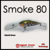 Balista Smoke 80 Hybrid-Green LED fishing lure
